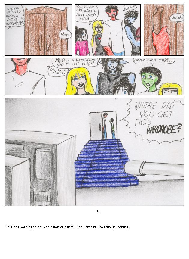 Mystery of the Wardrobe REVEALED!