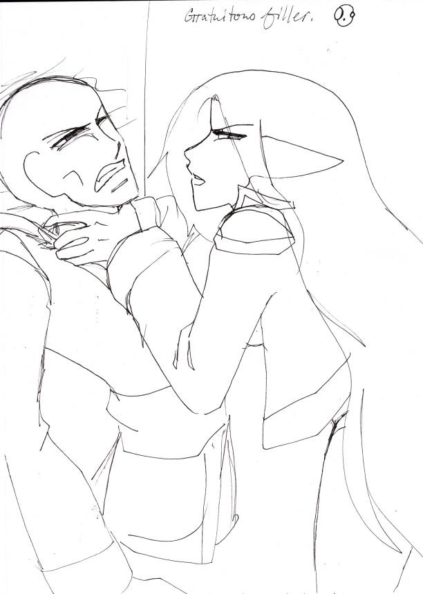 Gratuitous choking sketch