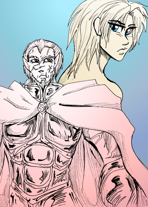 Daimon and a guy